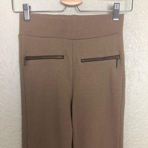 Zara Pants - EUC Zara Basic high waisted ankle zipper jegging